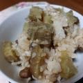 さつまいものバター飯(炊飯器利用)