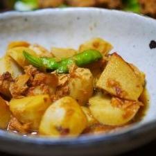小芋のツナ煮