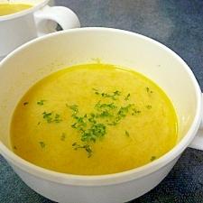 ★かぼちゃの豆乳スープ★圧力鍋使用