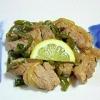 低カロリーのヒレ肉で!「豚ヒレ肉の炒め物」献立