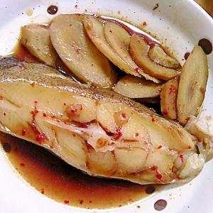 ウマ辛!韓国風カレイの煮付け