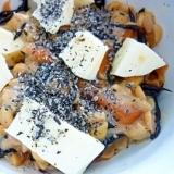 ひじき煮+6Pチーズ+納豆(^-^)