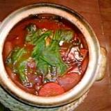 ケチャップで作る☆野菜たっぷりトマトベースのポトフ