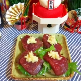 桜肉の握り・生姜たっぷりで☆