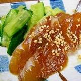 ねっとり熟成の美味しさ!簡単!活魚の漬けレシピ!