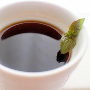 【簡単】カフェ気分♪気分スッキリ本格ミントコーヒー