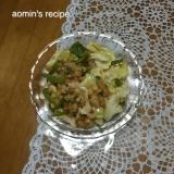 ハッシュドポテトの野菜炒め