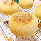 天然酵母でイングリッシュマフィン(バター不使用)