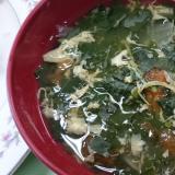 野菜嫌いもへっちゃら!モロヘイヤスープ