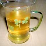 まっこい梅酒de緑茶割り