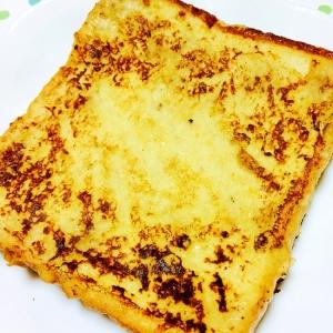 バナナ風味のフレンチトースト
