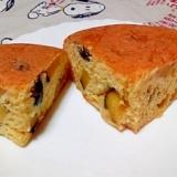 炊飯器で簡単!林檎とさつまいものケーキ