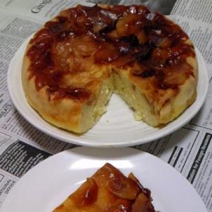 炊飯器deりんごケーキ♪