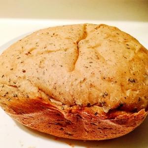 幼児食☆レーズンと胡麻の食パン