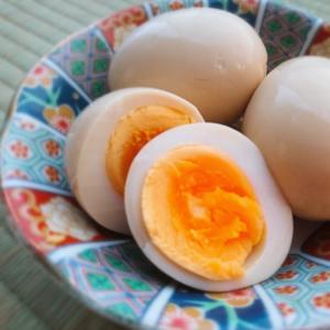 めんつゆで味付け卵 煮玉子