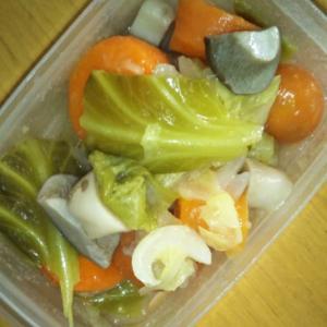 野菜と鶏のクリームスープ