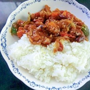 お豆とお野菜たっぷりカレー
