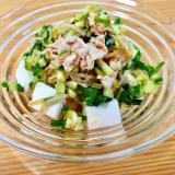 ピリ辛☆ボリューム満点豆腐サラダ