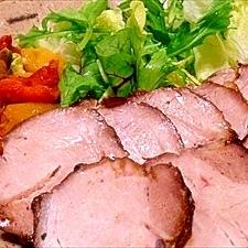 うちの定番、オーブン焼き豚