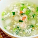 冬瓜とエビの中華スープ(冬瓜蝦仁羹)