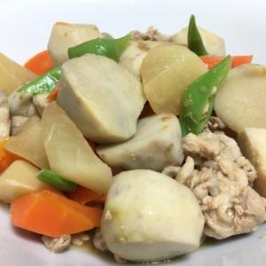 豚肉と野菜の煮物