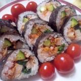 おもてなしに☆韓国風巻き寿司