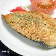 甘鮭のパセリソテー