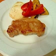 美味しい!イベリコ豚のステーキ