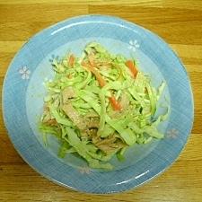キャベツの和風コールスローサラダ