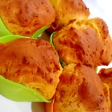 HMとマヨで簡単さくふわっ!かぼちゃのカップケーキ
