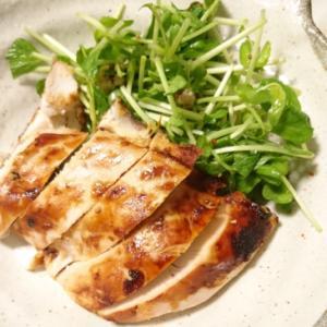 コストコさくら鶏胸肉で作る酒粕ペースト焼き