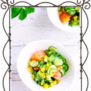 簡単夏サラダ