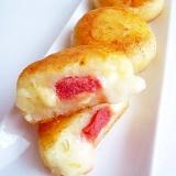 明太チーズじゃがいも餅