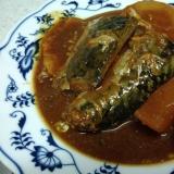 甘さ控えめ、鯖と大根の味噌煮