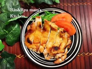 鶏モモ肉のガーリック味噌グリル