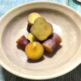 栗の渋皮煮汁を使って!しっとりサツマイモの甘煮