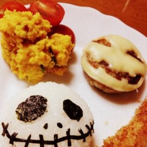 ハロウィン用*子供が喜ぶデコご飯*