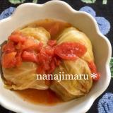 トマトスープのロールキャベツ☆