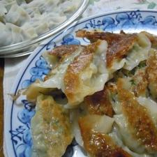 野菜たっぷりスタミナ餃子♪