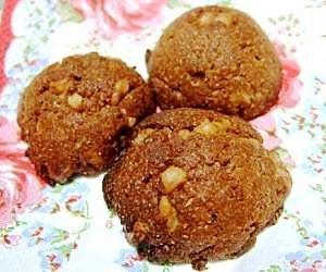 糠入りヘルシーココアクッキー