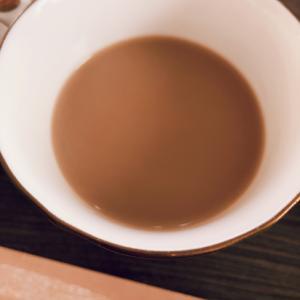 バレンタインに生チョコホットコーヒー