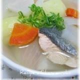 魚菜のうまみたっぷり!あったか三平汁
