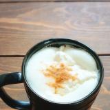 生クリームたっぷり♪きな粉ウィンナーコーヒー