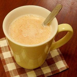 ココナッツきな粉ホットミルク