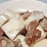 簡単肉豆腐