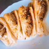 食パンで簡単♪ハンバーガー風サンド