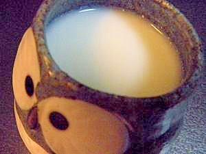 ホエー(乳清)で♪市販品みたいな飲むヨーグルト