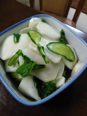 作り置き料理:野菜/ばあばのカブの漬物