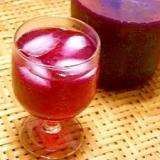 香りの良い☆裏赤紫蘇ジュース