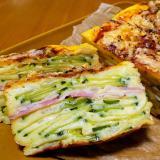 ズッキーニのお野菜ガトー・インビジブル♪